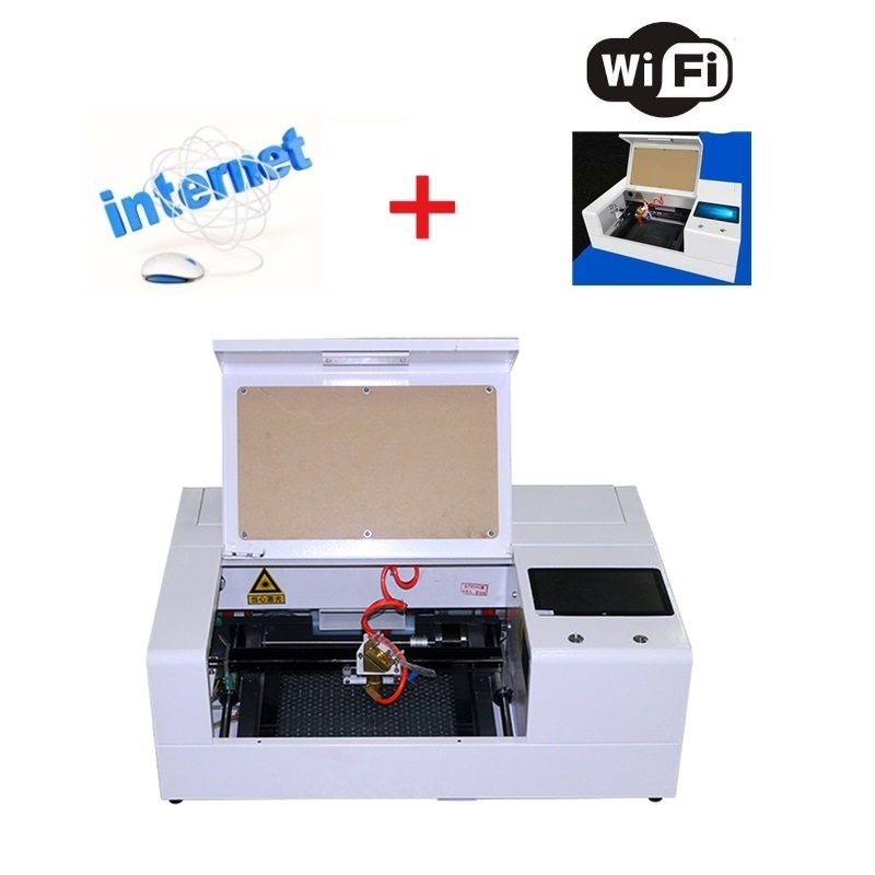 LY Smart Mini Mobile Tempered Glass Screen Protector Co2 Laser Cutting Machine 35W Laser Engraver
