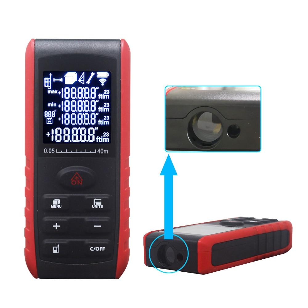 Telemetro laser portatile Area del misuratore di distanza laser - Strumenti di misura - Fotografia 3