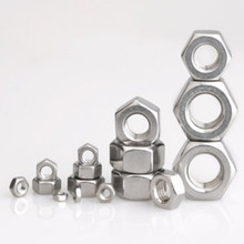 Hex-Hexagon-Nut Screw-Bolt M1 M4 M1.2 304-Stainless-Steel M1.6 M2 Din934 for M1.4 M2.5