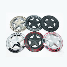 1pcs 3D Badge TEXAS EDITION Star TRAIL RATED 4X4 Limited Emblem Metal Car Stickers for JEEP Cherokee Wrangler Grand Styling