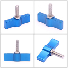 Photography Accessories Adjust Screw Handle M4 M5 M6 Rail Rod Slider Clamp Locking Screw T Shape Wrench Clamp Screw Adapter camvate swat rail clamp