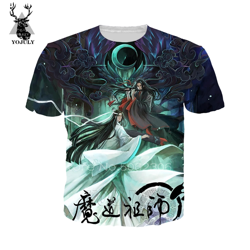 Großmeister mo dao zu shi wei wu xian t-shirt fremden dinge t hemd 3D T-shirt sweatshirt lil peep hemd streetwear hip hop 237