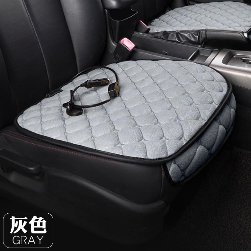Car Heating Mat 12v Car Seat Winter Warm Cover Chair Heating Mat Rear Square Mat Heating Cushion