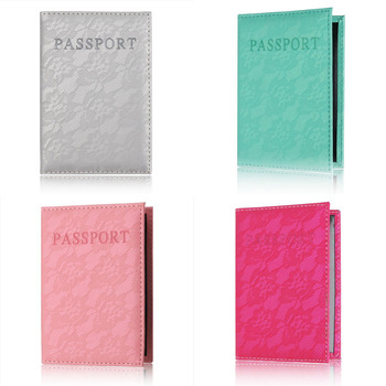 Luxury Elegant Women Passport Cover Pink World Universal Travel Passport ticket holder Cover on the Passport Case passport pouch фото