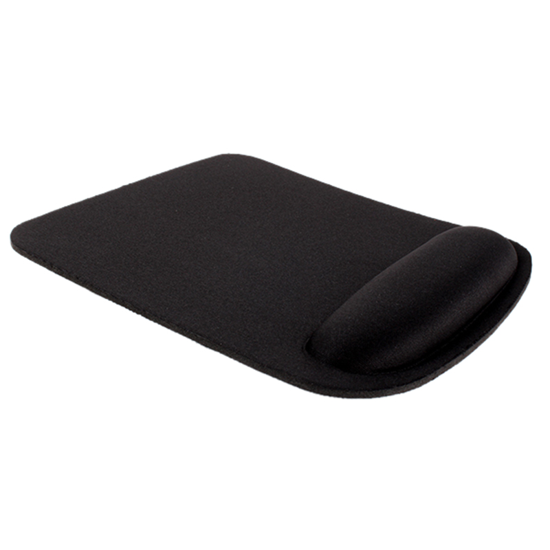 Thicken Square Comfy Wrist Mouse Pad For Optical/Trackball Mat Mice Pad Computer(Black)