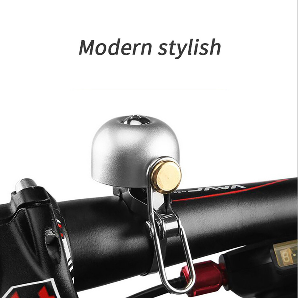 Bicycle Mini Ring Bell Classic Vintage Durable Safety Riding Alarm