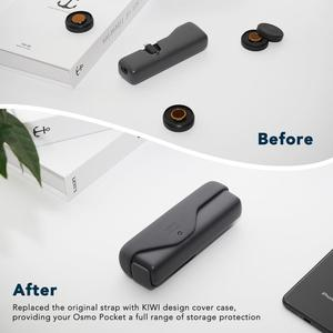 Image 4 - Zwart Siliconen Beschermhoes Cover Compatibel voor DJI Osmo Pocket Accessoires Protector Shock Proof Silicone Skin Cover