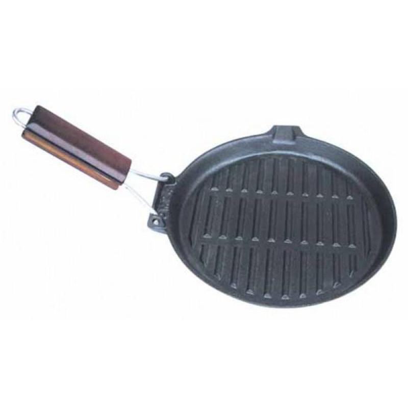 Frying Pan Grill REGENT INOX, FERRO, 23 Cm