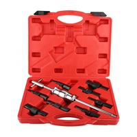 9Pcs Blind Hole Inner Bearing Puller Remover Set Slide Hammer Internal Kit Repair Tool Set