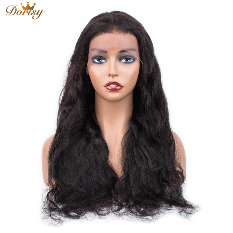 Lace Frontal Human Hair Wigs 13×4 Lace Frontal Wigs Body Wave For Black Women Lace Wig Pre Plucked With Baby Hair Non Remy