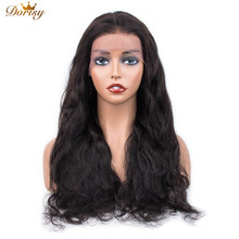 Lace Frontal Human Hair Wigs 13×4 Body Wave For Black Women Wig Pre Plucked With Baby Non Remy
