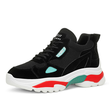 Women 2019 Breathable Mesh Casual Shoes Female Fashion Sneaker Lace Up High Leisure Women Vulcanize Shoe Platform A0059 цена 2017
