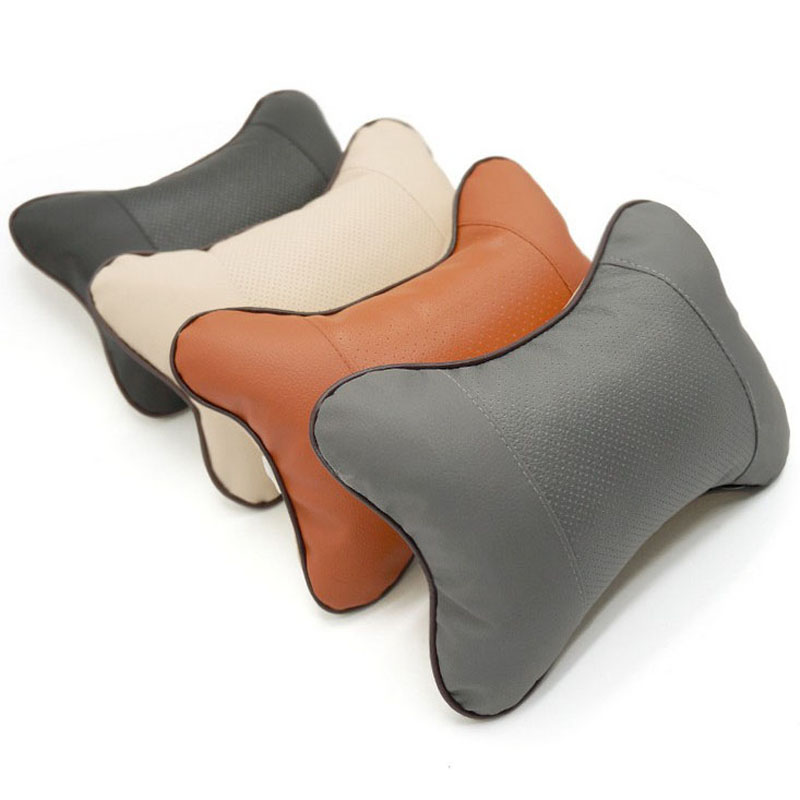 Headrest Car Breathable Fatigue Relief Neck Comfort Pillow Auto Accessories Rest in Steering Covers from Automobiles Motorcycles