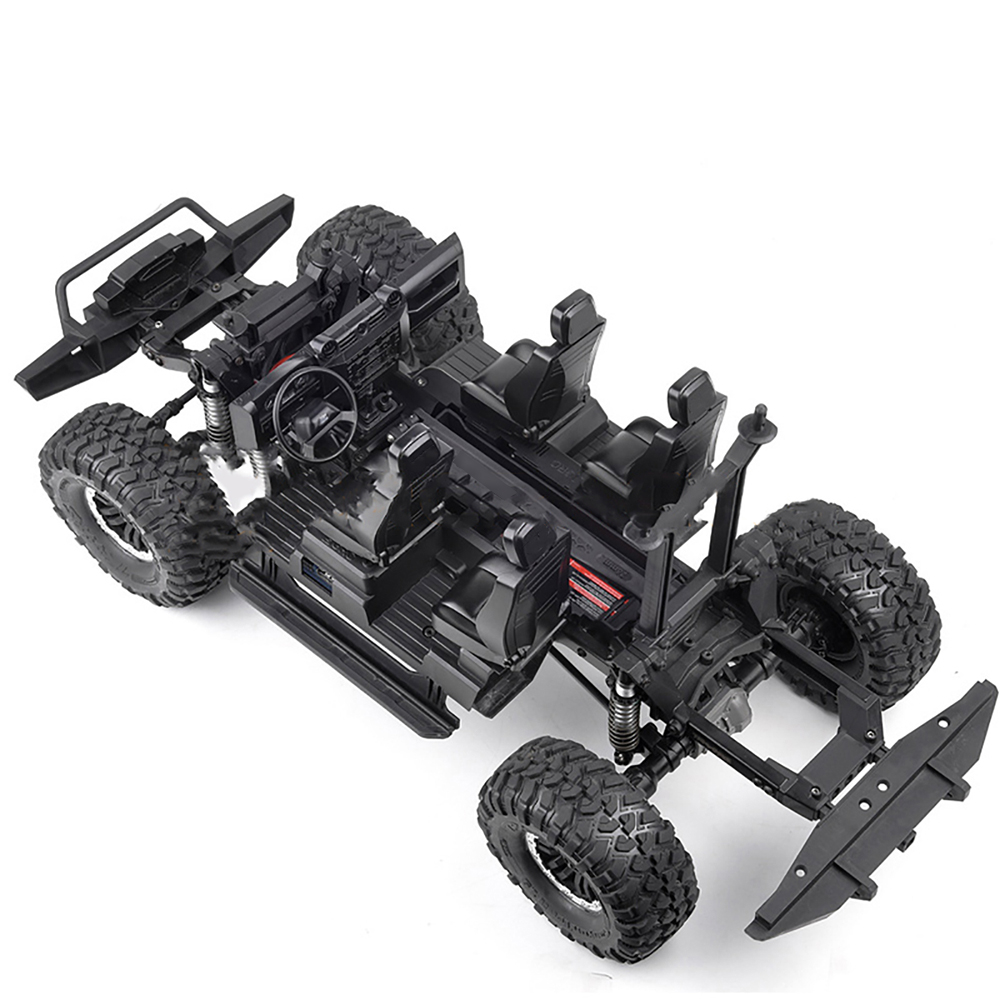Simulation Cab Cockpit Interior Decoration Body Center Console Kit for <font><b>1/10</b></font> Traxxas TRX4 Defender RC Car <font><b>Accessories</b></font> image