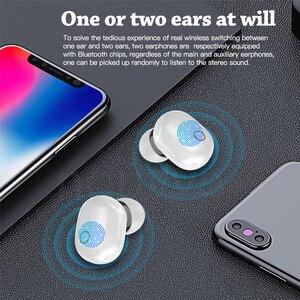 Image 5 - T16 TWS Wireless Touch auricolare Bluetooth Display a LED Sport cuffie Wireless impermeabili Mini In Ear auricolari per Xiaomi iPhone