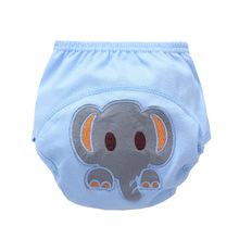 Cute Cartoon Pattern 16 Colors 1 Piece Baby Training Pants Diaper Reusable Nappy Washable Diapers Cotton Learning