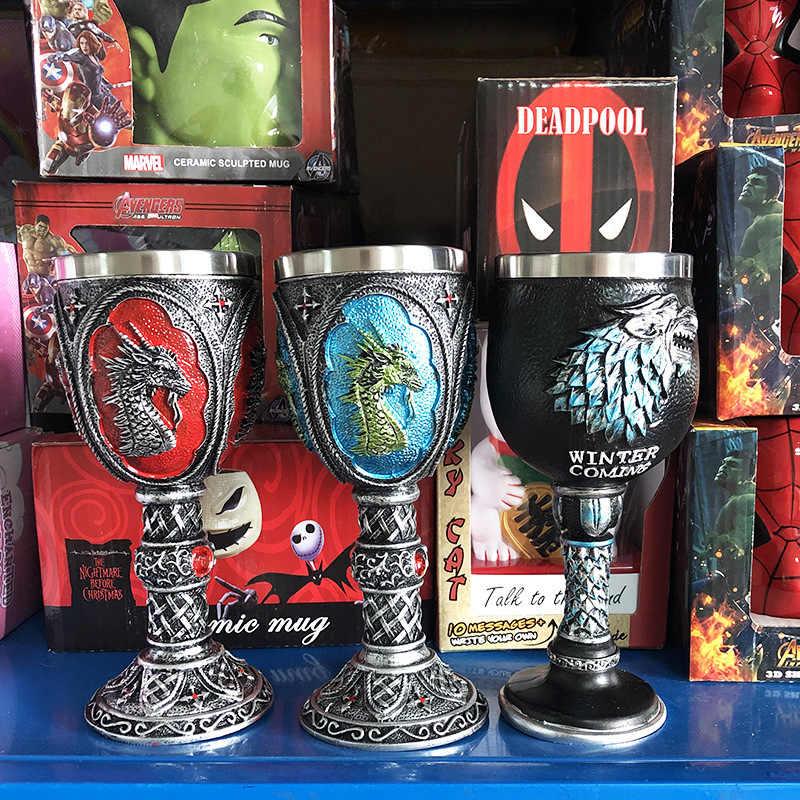 Game of Thrones il Tazze di Caffè Freddo Testa di Drago Tazze e Tazzine Creativo Articoli e Attrezzature per Acqua, Caffè, Tè
