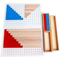 Montessori Education Mathematics Exercise Toys Addition and Subtraction Board Preschool Learning Game Math Training for Kids