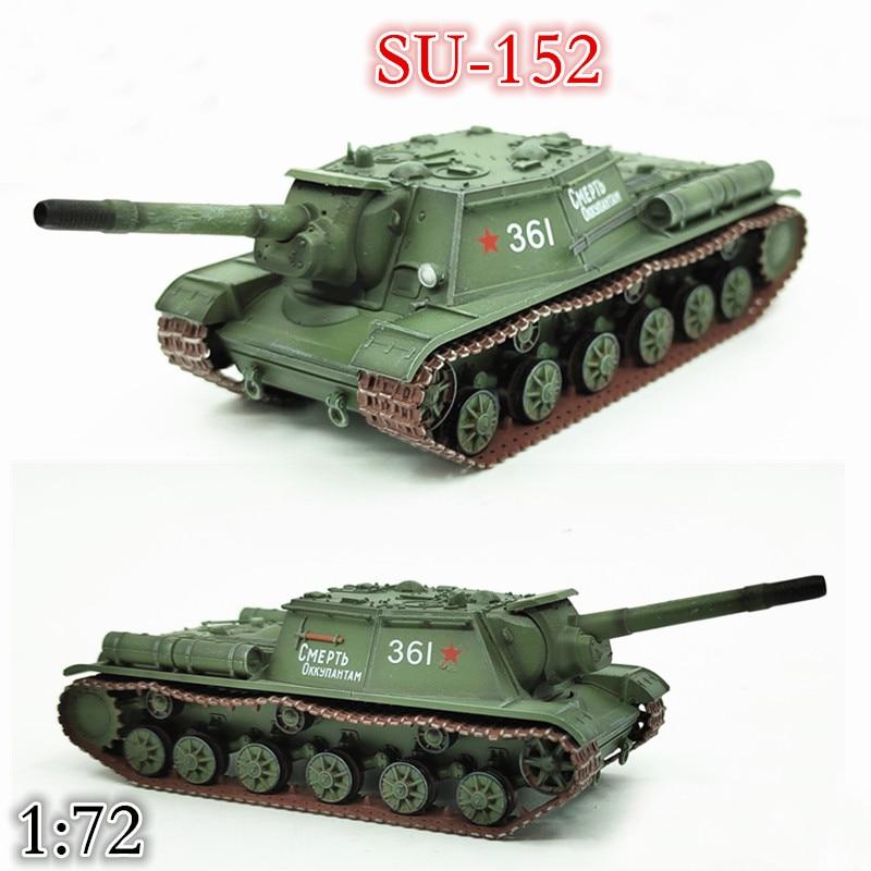1:72  World War II  Soviet Su-152 Heavy Tank Model  Static Simulation Model
