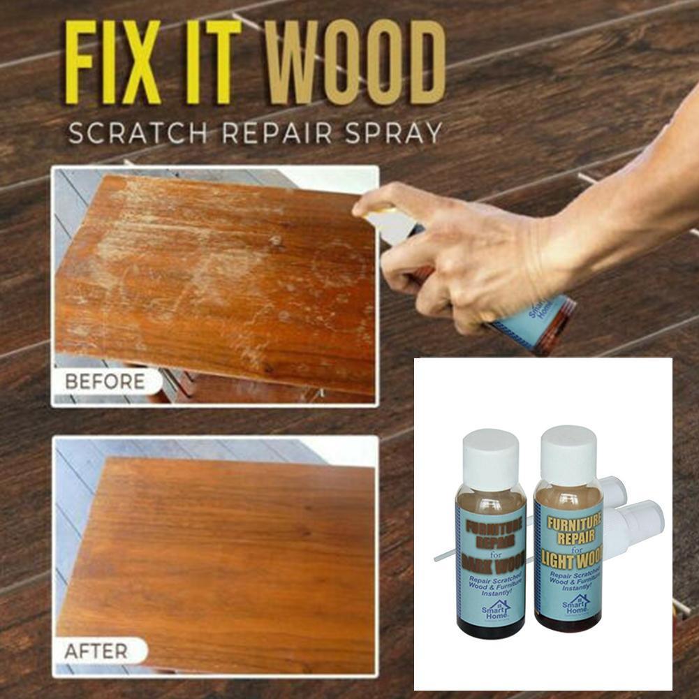 Kit de réparation de bois Kit de réparation de plancher de peinture de meubles bâtons colle à gratter GQ999