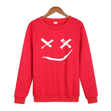Men And Women Crewnecks Fashion 4 Yards Hip-hopStreet Long-sleeved Pullover Smile Print Sweatshirt Shirt Hoodie Clothes