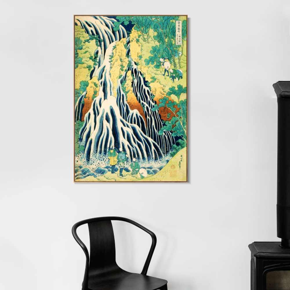 Series#036 By Katsushika Hokusai Oil Painting on Canvas Posters and Prints Wall Art Picture For Living Room Cuadros