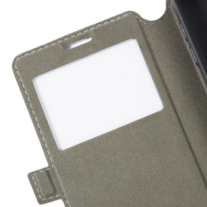 Image 4 - PU Leather Phone Case For Cubot C30 Flip Case For Cubot C30 View Window Book Case Soft TPU Silicone Back Cover