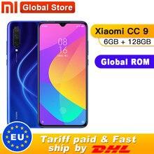 "Global ROM Xiao mi mi CC9 6GB de RAM 128GB ROM Telemóvel Snapdragon 710 48MP Câmera Triplo 32MP câmera frontal de 6.39 ""Tela"