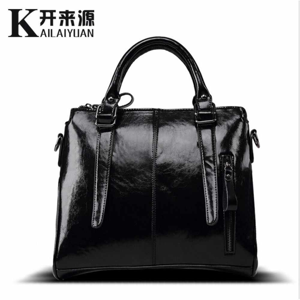 100% Genuine leather Women handbags 2019 New brand design Messenger bag fashion ladies Crossbody Bag famous brand bags