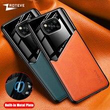 Poco X3 NFC Case Zroteve For Xiaomi Pocophone X3 M3 X2 F2 Pro Case PU Leather Xiomi Pocofone M3 F3 M2 Pro Cover Poco F2 Pro Case