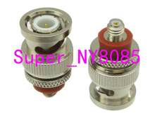 Adaptateur BNC Q9 mâle, 10 pièces, joint torique à L5 Microdot 10-32UNF femelle Jack RF connecteur COAXIAL
