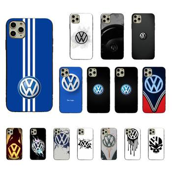 Yinuoda Volkswagen Phone Case Soft Case For iPhone 11 12 pro MAX 8 7 6 6S Plus X XS MAX 5 5S SE XR Fundas Capa image