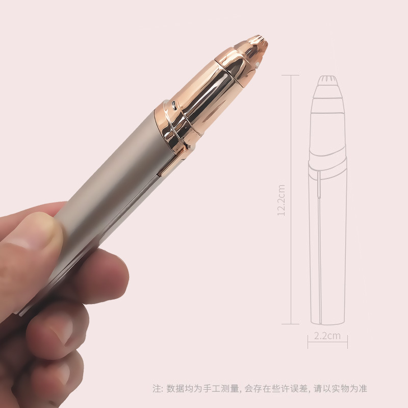 TV New Products Flawless Brows Lipstick Lady Shaver Epilator Shaver Electric Eyebrow Fixing Pen Manufacturers Direct Selling