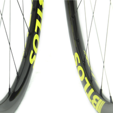 Bike wheels 650B Asymmetric  XC MTB  trail carbon wheels - BTLOS WM-i22A-7-N
