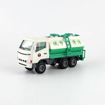 1:60 Scale/Simulation Diecast Model Toy Car/Engineering Sprinkling Truck/Delicate Children's Gift/Educational Collection image