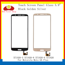 цена на 10Pcs/lot Touch Screen For Motorola Moto G6 Plus XT1926-5 XT1926-8 XT1926-6 Touch Panel Digitizer Sensor Front LCD Glass Lens