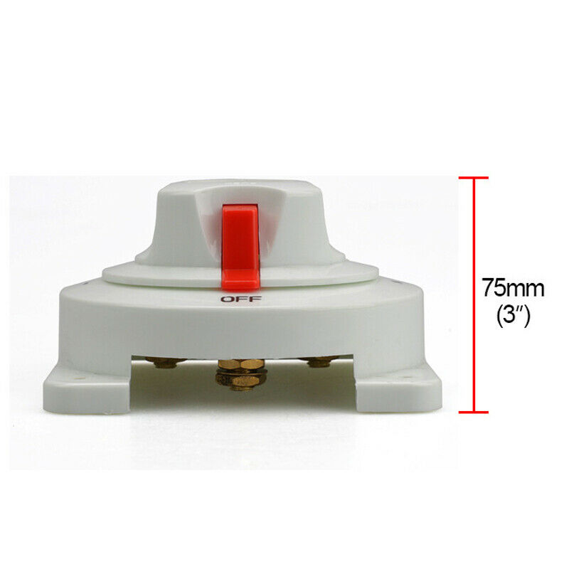 Marine Dual Battery Selector Switch for Boat RV Motor Replaces*1