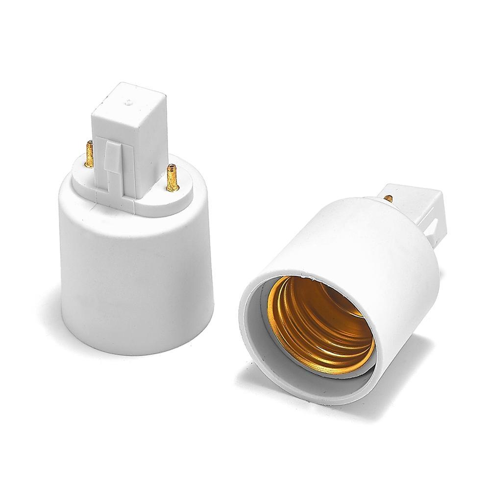 G23 To E27 Adapter G23 To E26 Lamp Holder Converter Base Socket LED Light Bulb Extend Extension Plug