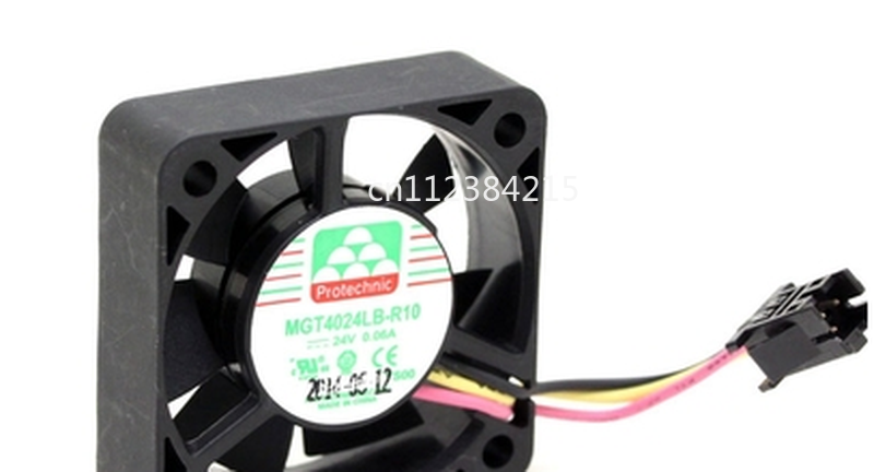 Free Shipping For Magic MGT4024LB-R10 Server Cooler Fan DC 24V 0.06A 3-Wire