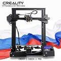 원래 creality 3d 프린터 Ender-3 또는 Ender-3 pro diy 키트 meanwell 전원 공급 장치/1.75mm pla abs petg/러시아