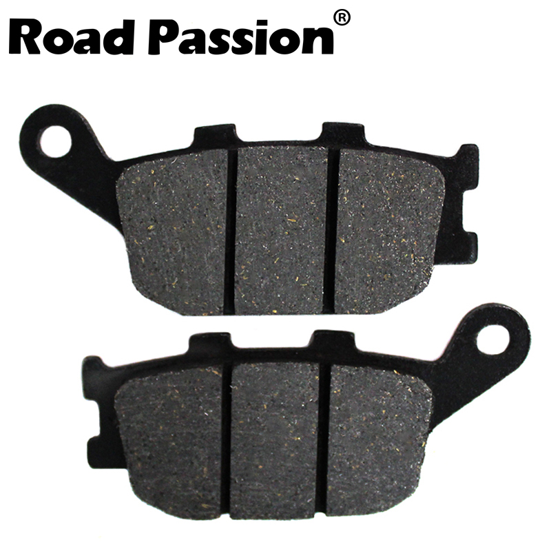 Motorcycle Rear Brake Pads for <font><b>HONDA</b></font> CBR600F CBR600RR CBR 600 1991-2013 <font><b>700</b></font> <font><b>Integra</b></font> Scooter NC <font><b>700</b></font> NC700 DC 2012 2013 image