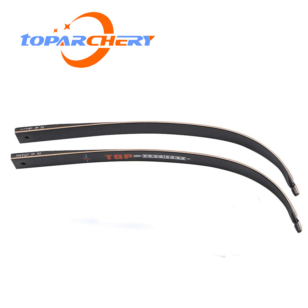 1pair Archery Recurve Bow Limbs 56inch 30-50lbs Right Hand Bow Carbon Bow Limbs For Shooting Practice Hunting Accessories