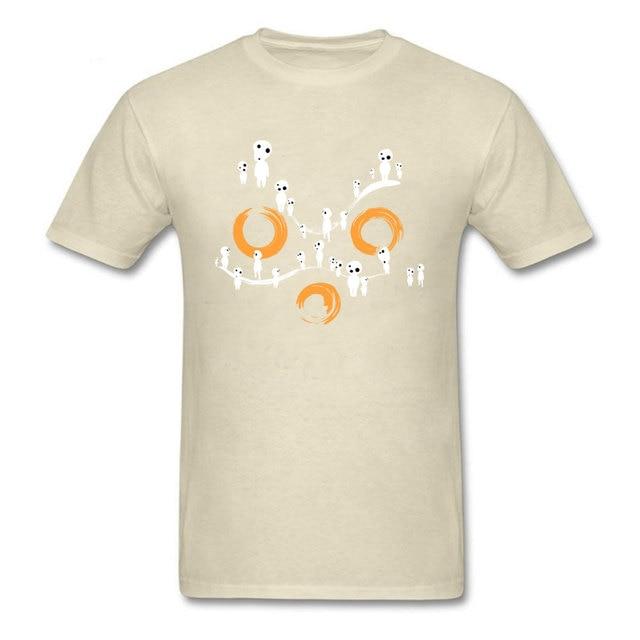 Hime Mask T Shirt Men Cotton Anime Tops Tees Princess Mononoke Unique Design Tshirt Company Custom Short Sleeve T Shirts Japan T Shirts Aliexpress