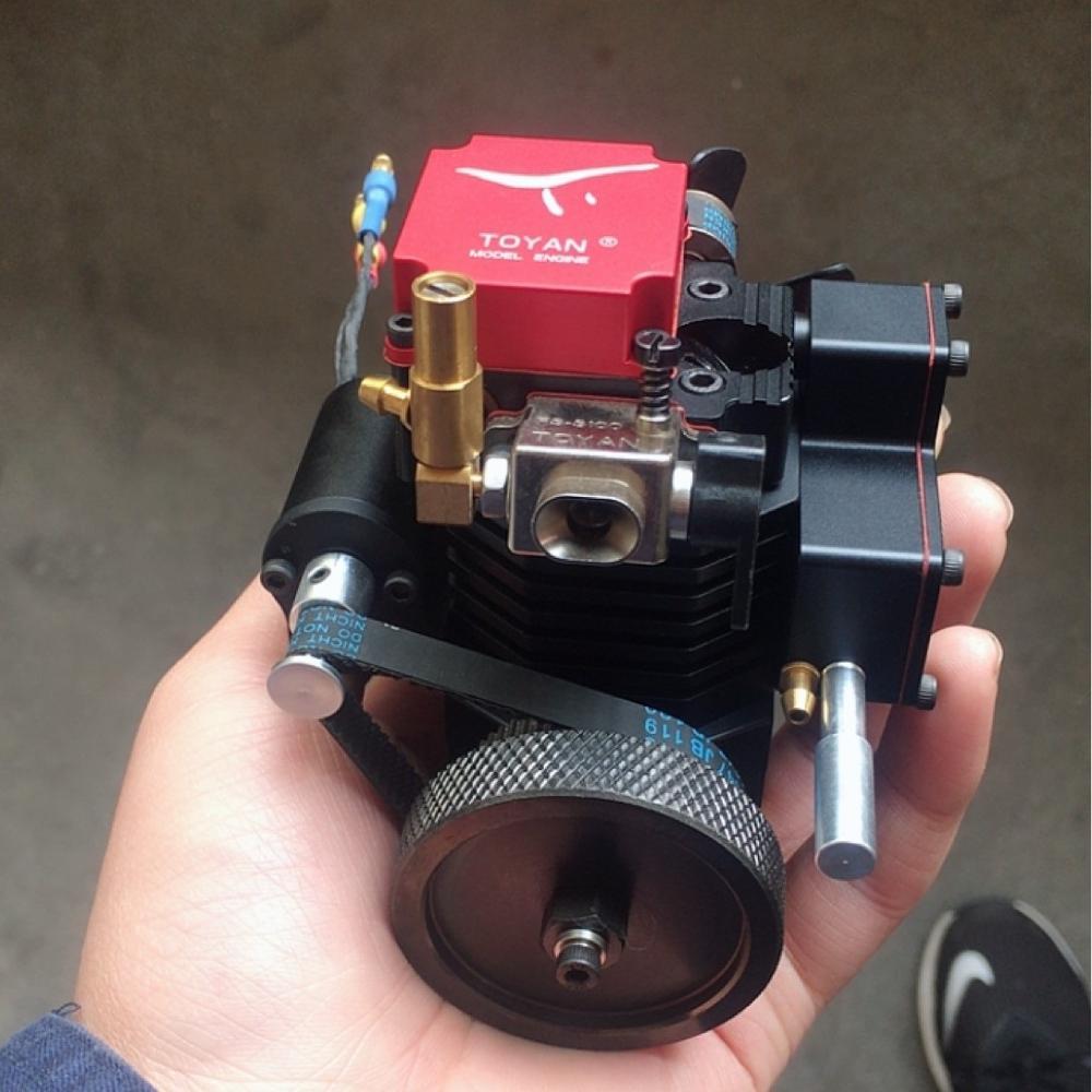 FS-S100G Engine Four-stroke Gasoline Model Engine