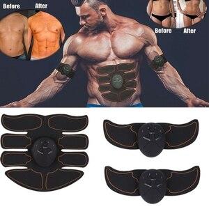 Image 3 - Électrostimulation abdominale intelligente, outil de gymnastique pour brûler les graisses, entraînement électrique des muscles