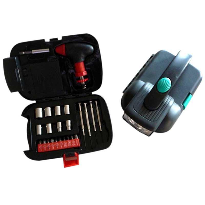 緊急車の多機能ボックス 24 セット家庭用ハードウェアとツール · ポートフォリオ