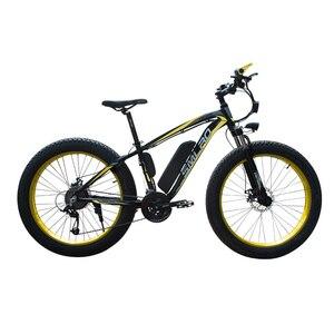 Image 3 - XDC600 SMLRO Neueste Modell elektrische fahrrad 26*4,0 Inch 48V 350W Snowbike E Bike