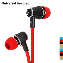 Original 3.5mm Stereo Music Bass Earphone Headphone Headset With Mic for iphone 5S 6S Plus for Samsung HTC Xiaomi Sony Earphones цена 2017