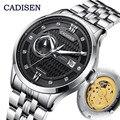 CADISEN Mens Orologi Top Brand di Lusso Meccanico Automatico MIYOTA 8217 Uomini Della Vigilanza di Affari Impermeabile Orologi Relogio Masculino