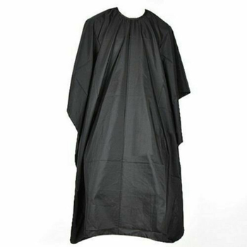 Professional Salon Barber Gown Hairdressing Cape Hair Cutting Cloak Apron Black Wrap Hair Coloring Products image